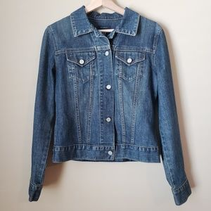 GAP Blue Denim Jean Jacket Medium